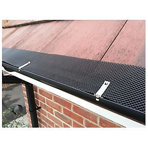 Gutter Guard Mesh Filter Stops Leafs Drains Drainage